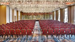 Ballroom theatre setting