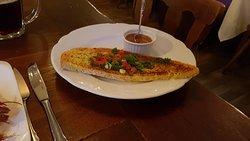 pane speciale con il piatto di pesce