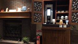 ラウンジのコーヒーマシン(無料)
