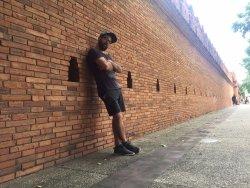 LE mur en brique, la fameuse porte