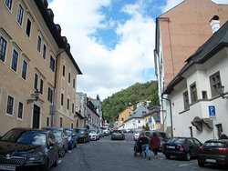 Old town area of Banska Stiavnica
