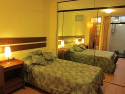 Dormitorio Departamento 1, Dos camas dobles