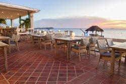 Sebastian's Restaurant serves an eclectic and international menu with a Mediterranean flair.