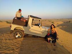 Sky Desert Camp snaps