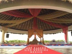 Wedding gazebo sikh wedding hard rock hotel riviera maya