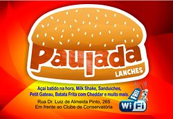 Paulada Lanches e Lan House