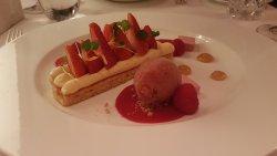 Lovely setting, great dessert