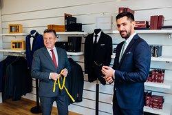 Anghel Constantin, bespoke master tailor, men's tailoring in Targoviste. Romania