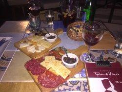 Heerlijke mix plate kaas en vleeswaren