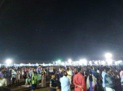 Temple Festival public in April