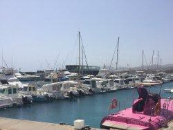 Marina area.