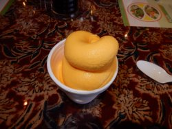 The Mango Sherbet was Excellent!