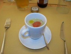 cappuccino salato