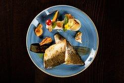 Filet de Féra, du Lac Léman, sauce légére à la menthe