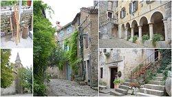 Groznjan Hilltop village of artists, Istria, Croatia