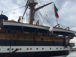 Visita alla Nave Amerigo Vespucci!