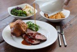 Sunday roast at The Terrace Restaurant