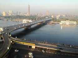 Nile View was excellent (early morning)