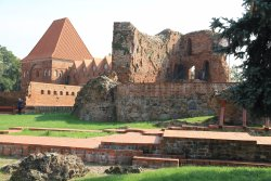 Ruins of the Teutonic Castle in Torun