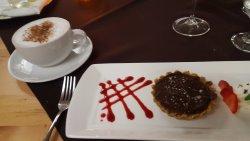 Dessert - Salted caramel torte and London Fog tea