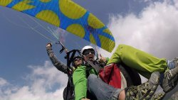 The best emotions in Budva paragliding montenegro