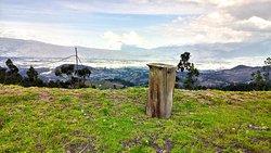 Vista a la ciudad de Riobamba