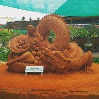 Forgotten Land Sand Sculpture Park