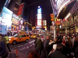 Within walking distance of Times Square