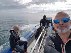 En route pour notre 1ère plongée
