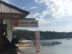Der Kaffee ist wunderbar