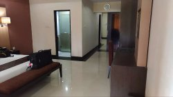 Bedroom, suite, towards working room