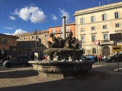 La fontana dei Mori