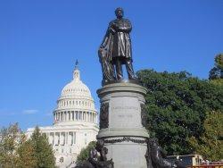 James Garfield sculpture