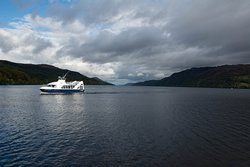 Cruise Loch Ness from Fort Augustus (10 mins drive)