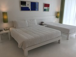 Serene wing have nice clean modern rooms