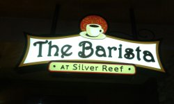 The Barista    At Silver Reef