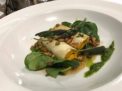 Pumpkin Cannelloni at the Reef
