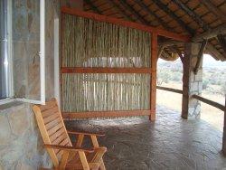 Terrasse des Bungalow