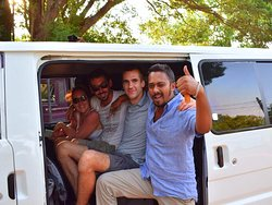 The Visit Lanka Tour's Travelers with Manju.my french clients.