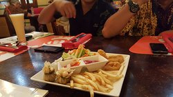 Snack, French Fries, Calamari, Fried Siomay