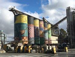 Ocean Concrete silos