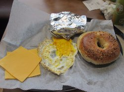 Towson Hot Bagels aka THB