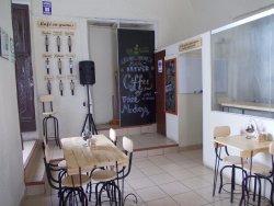 Trata-se de uma cafeteria, muito simpática, que leva o consumidor a entender melhor sobre o prod