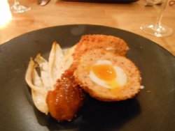 Smoked Salmon Scotch Egg