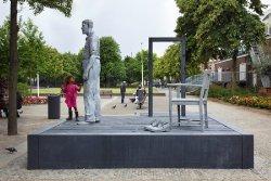 Kunstwerk 'Reus van Rotterdam'