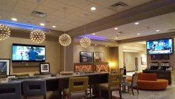 Stylish modern comfortable dining area