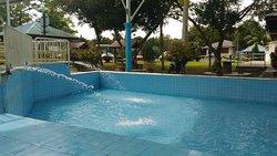 Labis hot spring