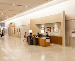 Lobby at the ANA Crowne Plaza Kobe