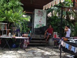 Sunday Market at Samadi Bali and the cafe food is awesome as well!