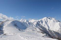 Tenjin-daira el área del esquí